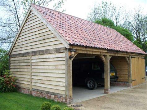 Carport Building Plans by Oak Garages Fully Bespoke Oak Frame Timber Garages