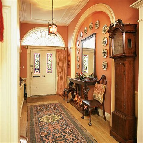 hall furniture ideas terracotta hallway hallway furniture decorating ideas