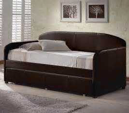 Daybed With Trundle Bed Springfield Daybed With Trundle Brown Modern Daybeds By
