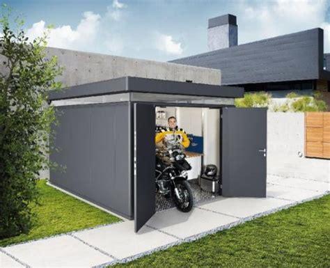 cobertizos para vehiculos metalicos caseta metalica biohort jardin casanova 4x5 casetas y