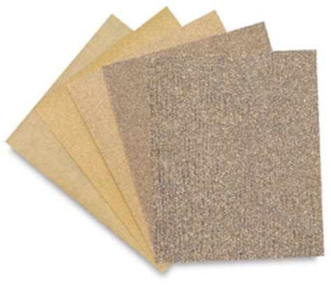 How To Make Sand On Paper - 3m production sandpaper blick materials