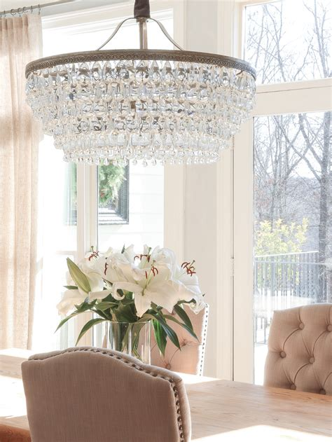 dining room chandeliers with l shades if you want a beautiful drop down chandelier this is it