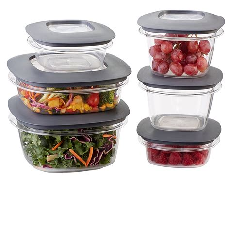 container for food storage rubbermaid premier food storage containers 12 set
