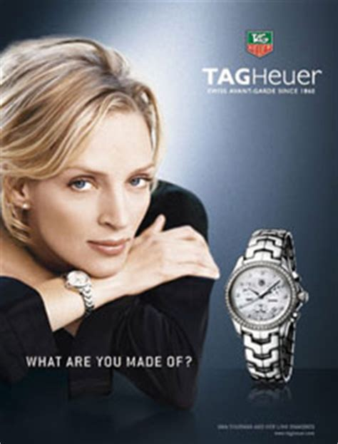 Uma Thurman And Tag Heuer Exclusivity Style And Success by Tag Heuer S Cjf1314 Ba0580 Link Tag