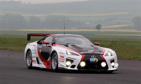 lexus racing team lexus and gazoo racing at nurburgring 24 hours endurance race