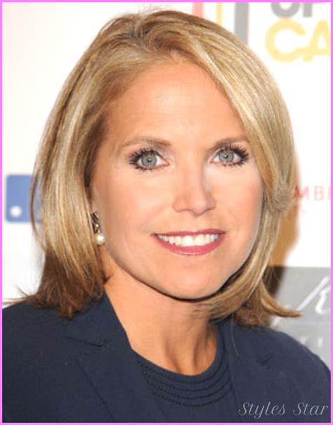 hair dryer featured on katie couric katie couric short hair stylesstar com
