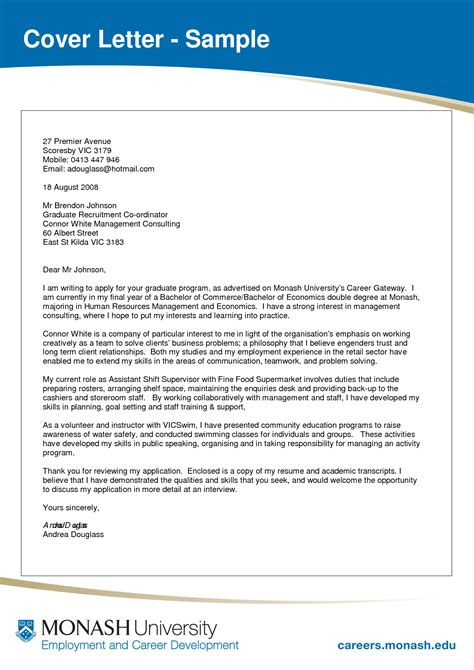 Best Photos of Cover Letter PDF Template   Academic