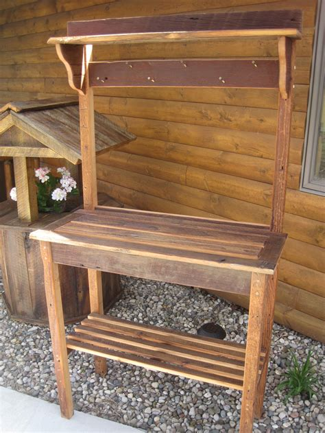 potting bench images painted potting bench fence row furniture