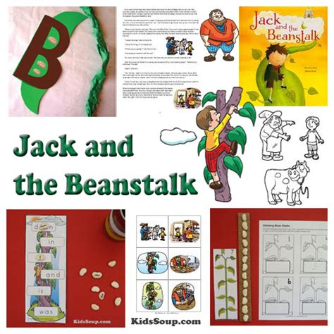 kindergarten activities jack and the beanstalk fairy tales preschool activities crafts and printables