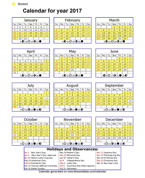 printable calendar 2017 printfree timeanddate calendar 2015 calendar template 2016
