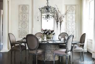 Dining Room Table Decorating by Gray Dining Room Round Table Decorating Ideas Dixon Hbx