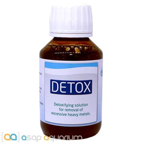 Triton Detox For Aquarium by Triton Detox 100 Ml Asap Aquarium