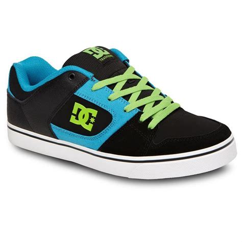 blitz shoes dc mens blitz lace up padded tongue casual trainers skate