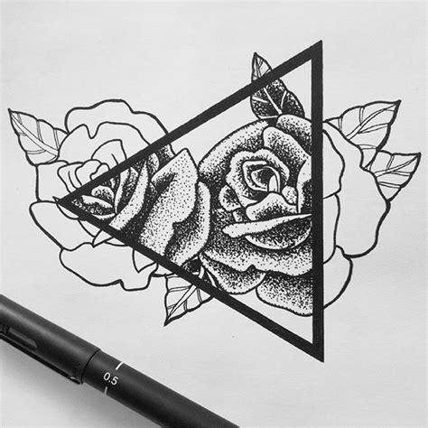 tattoo pen rose pointillism rose google search pinteres