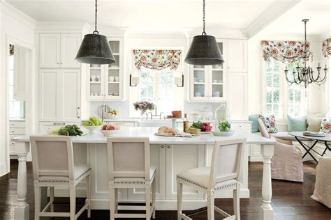 Kitchen Nook Curtains Kitchen Curtains Idea Kitchen Traditional With Breakfast Nook Traditional Kitchen Islands And Carts
