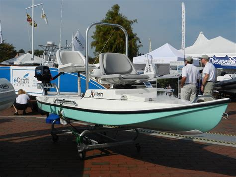 micro skiff boat plans the xfish microskiff new concept boats