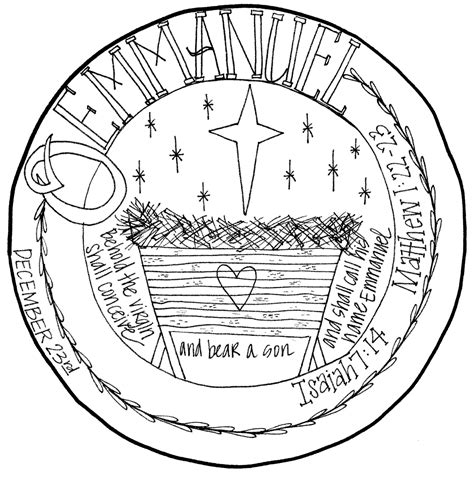 O Antiphons Coloring Pages look to him and be radiant the o antiphons