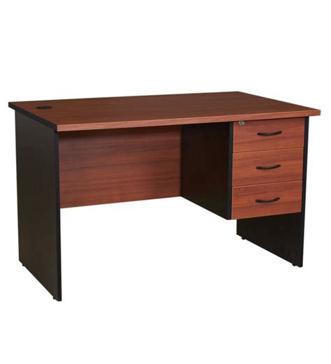 buy pine crest admire office table 4 x 2 with 3 drawers