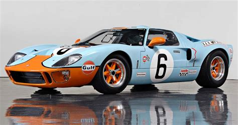 gulf gt40 gulf gt40 best looking vehicle ford made creano