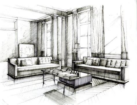 interior design sketch 25 best ideas about interior design sketches on pinterest