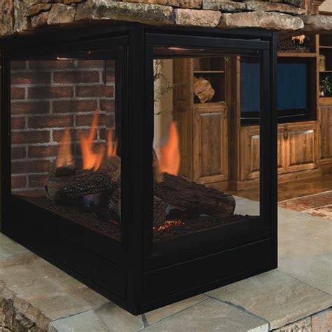 Fireplace Peninsula by 17 Best Images About 3 Sided Fireplace Inserts On