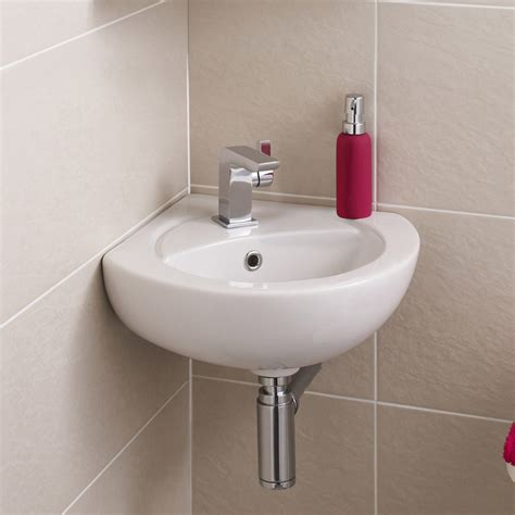 toilets and basins for small bathrooms premier corner wall mounted basin