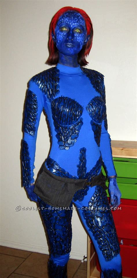 Coolest Handmade Costumes - cool mystique costume