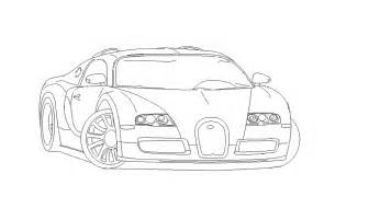 bugatti veyron outline wip microsoft paint by ant787 on