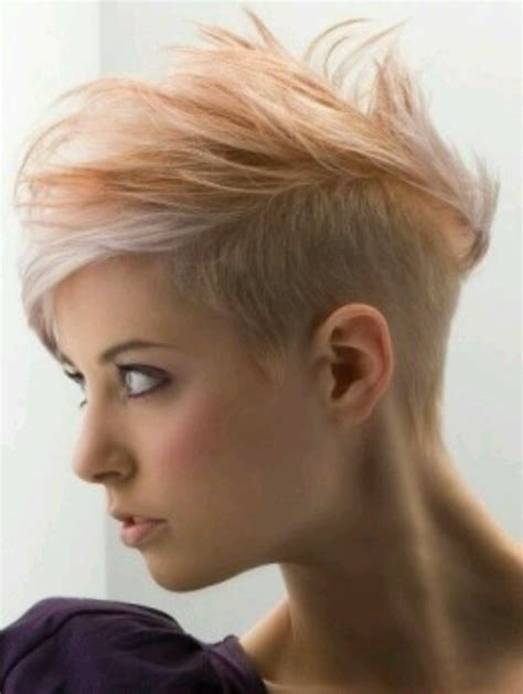 subtle mohawks women 17 best images about possible new do on pinterest