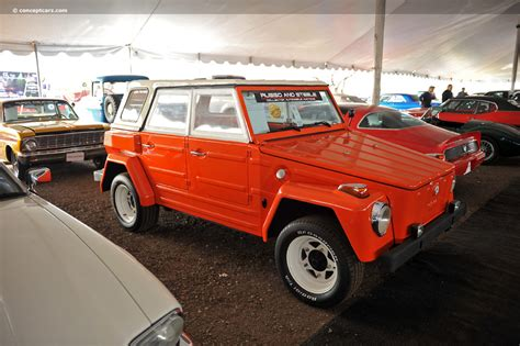 volkswagen type 181 thing auction results and data for 1974 volkswagen type 181