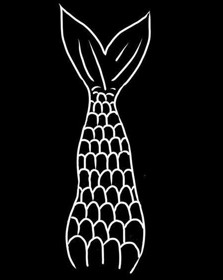 Como colocar o desenho de cauda de sereia na foto (com