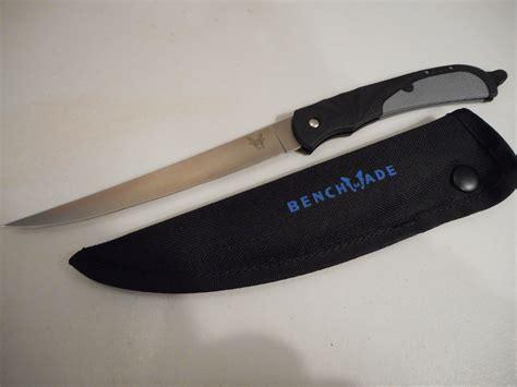 folding fishing knife new in box benchmade 10115 folding fillet knife fishing