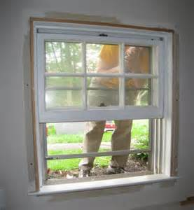 trimming interior windows how to install a replacement window one project closer