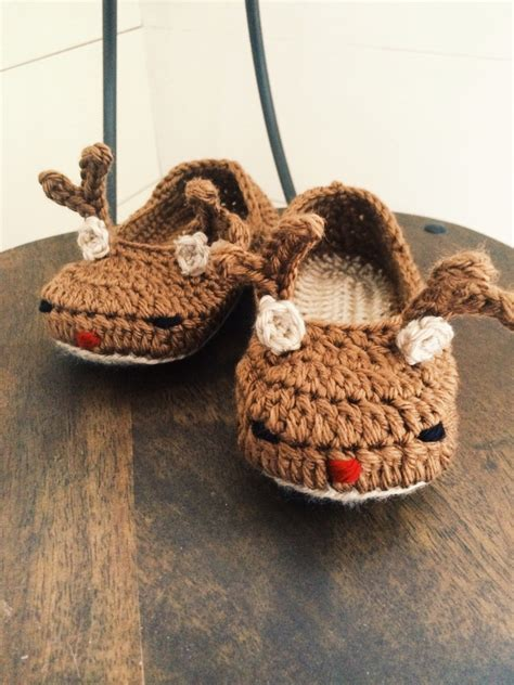 rudolph the nosed reindeer slippers toddler child reindeer slippers rudolph the nosed