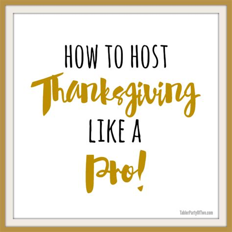 how to wait tables like a pro host thanksgiving like a pro sunday features