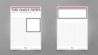 tabloid article template blank newspaper templates