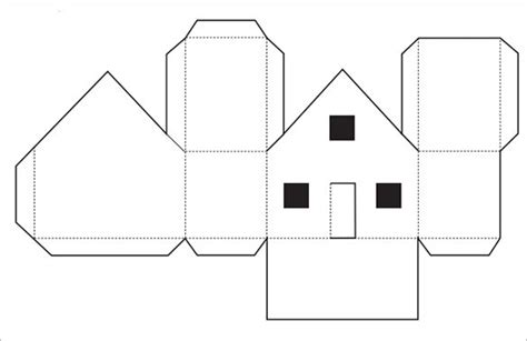 home design templates free paper house template 19 free pdf documents download