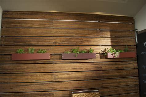 bamboo slat wall led lighting contemporary kitchen san diego environmentallightscom
