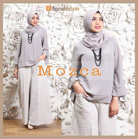 Celana Kulot Linen Motif Abstrak supplier baju muslim terbaru