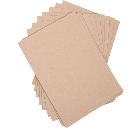 Card Paper Packs - a4 recycled kraft card 50 pack hobbycraft