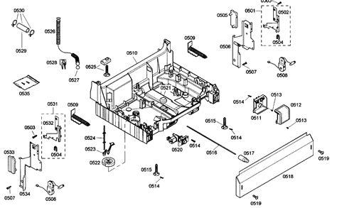 bosch dishwasher parts diagram bosch dishwasher parts bosch dishwasher parts