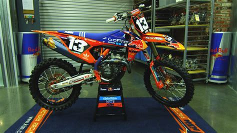 troy lee design graphics ktm inside jessy nelson s factory red bull troy lee designs