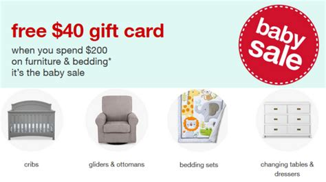 Target Baby Sale Gift Card - target baby furniture bedding gift card all things target