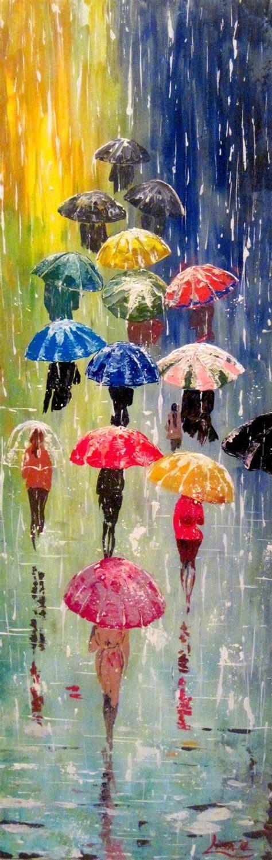 acrylic painting umbrella 25 best ideas about umbrella painting on