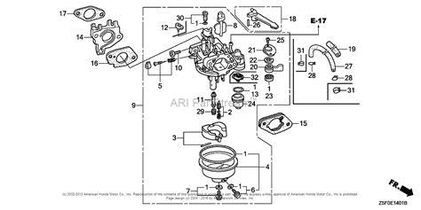 honda gx240 parts diagram honda engines gx240u1 wkd6 engine jpn vin gcakk 1000001