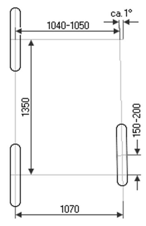 Motorradgespann Geometrie by Gespanngeometrie F 252 R Motorr 228 Der Mit Seitenwagen Kr26 De