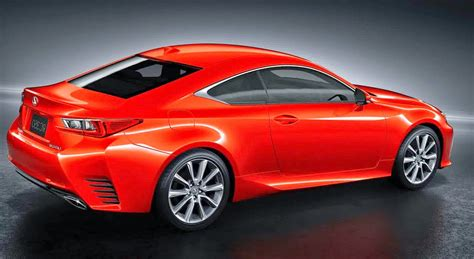 sporty lexus coupe 2015 lexus rc coupe concept sport car design