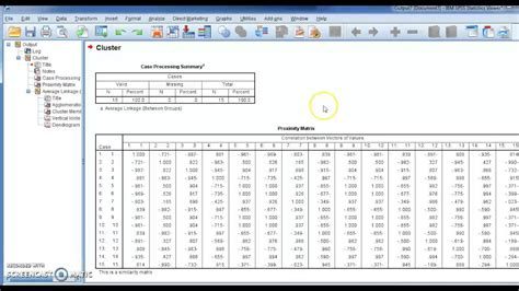 spss tutorial cluster analysis spss v 23 lesson 65 hierarchical cluster analysis التحليل