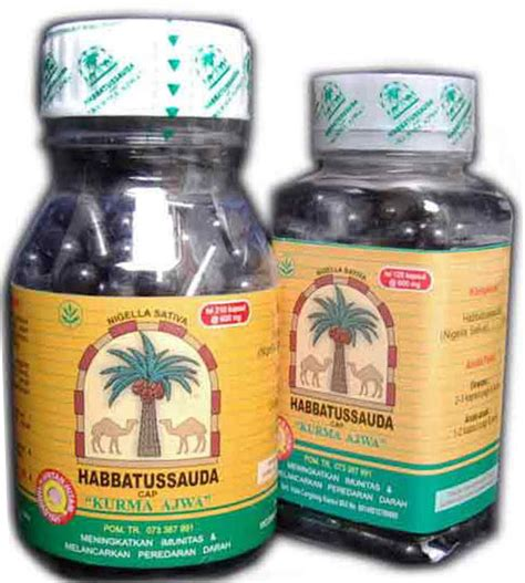 Habbatussauda Herbal Segala Penyakit 210 gt gt produk herbal umum gerai herbal dot