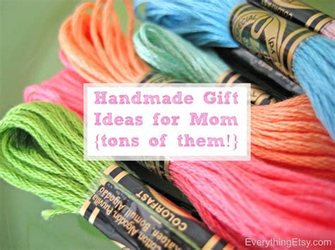 Creative Handmade Gift Ideas - diy gifts for everythingetsy